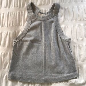Grey Urban Outfitters Crop Top Size S